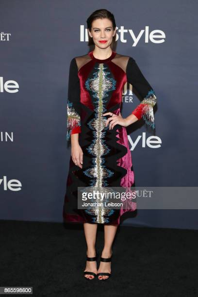 Lauren Cohan at the 2017 InStyle Awards presented in partnership with FIJI WaterAssignment at The Getty Center on October 23 2017 in Los Angeles...