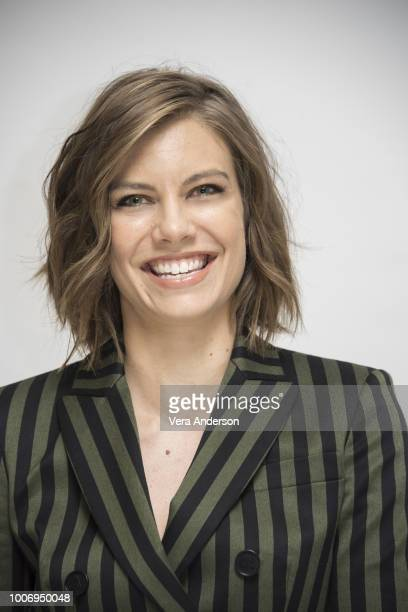 Lauren Cohan at the Mile 22 Press Conference at the Four Seasons Hotel on July 27 2018 in Beverly Hills California