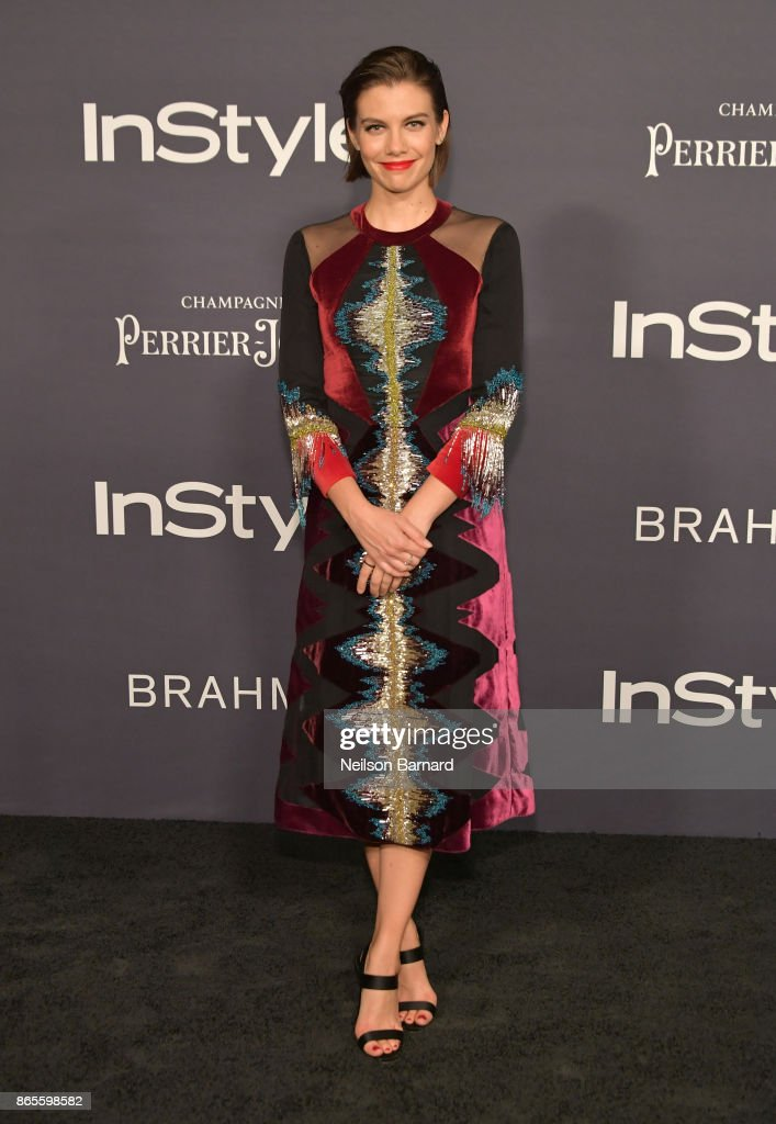 Lauren Cohan attends 3rd Annual InStyle Awards at The Getty Center on October 23, 2017 in Los Angeles, California.