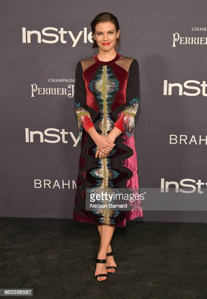 Lauren Cohan attends 3rd Annual InStyle Awards at The Getty Center on October 23 2017 in Los Angeles California