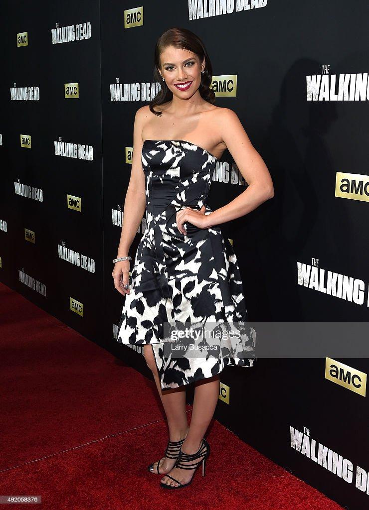 "AMC's ""The Walking Dead"" Season 6 Fan Premiere Event At Madison Square Garden 2015 - Arrivals"