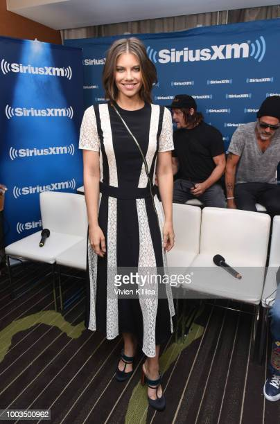 Lauren Cohan attends SiriusXM's Entertainment Weekly Radio Broadcasts Live From Comic Con in San Diego at Hard Rock Hotel San Diego on July 20, 2018...