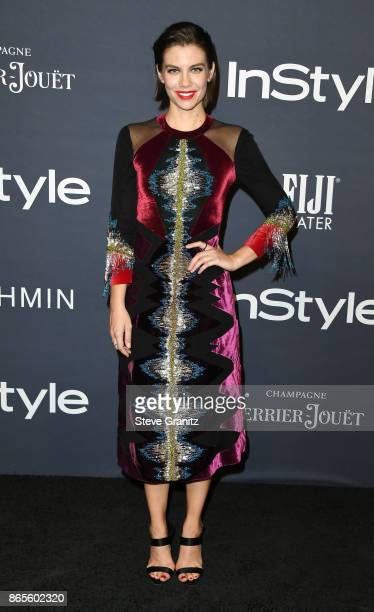 Lauren Cohan attends the 3rd Annual InStyle Awards at The Getty Center on October 23 2017 in Los Angeles California