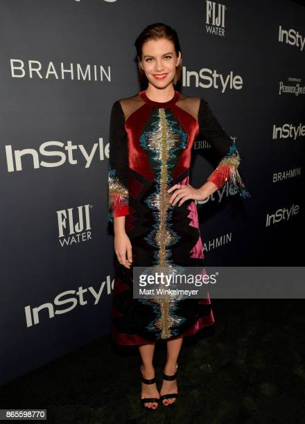 Lauren Cohan attends the Third Annual 'InStyle Awards' presented by InStyle at The Getty Center on October 23 2017 in Los Angeles California
