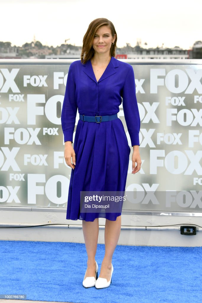 Lauren Cohan attends 'The Walking Dead' Photo Call during Comic-Con International 2018 at Andaz San Diego on July 20, 2018 in San Diego, California.