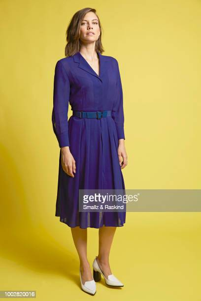 Lauren Cohan from AMC Networks 'The Walking Dead' poses for a portrait at the Getty Images Portrait Studio powered by Pizza Hut at San Diego 2018...