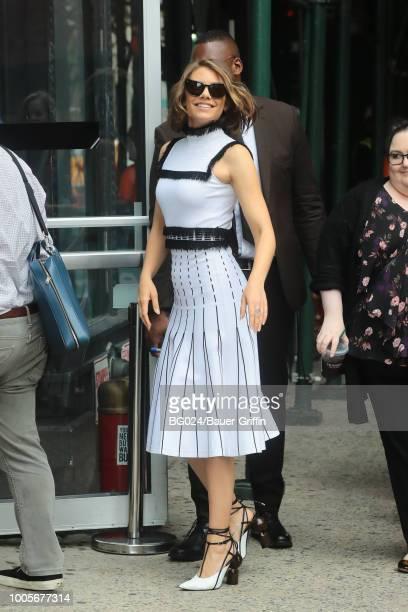Lauren Cohan is seen on July 26 2018 in New York City