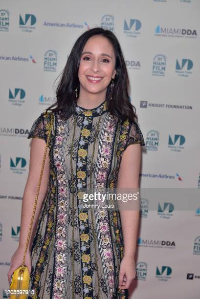 Lauren Cohen is seen during 37th Annual Miami Film Festival presented by Miami Dade College opening night Film 'The Burnt Orange Heresy' at Olympia...