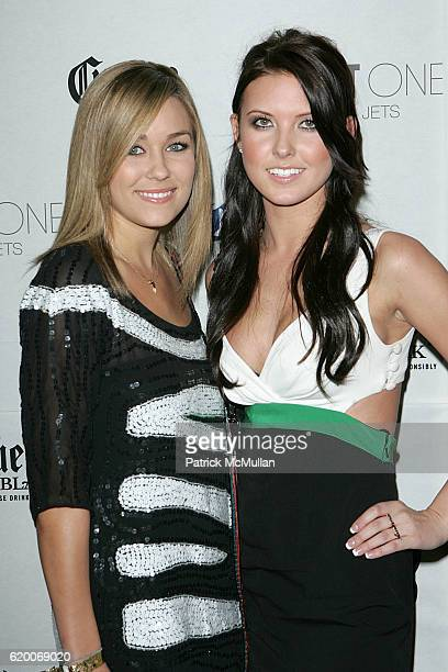 Lauren Conrad and Audrina Patridge attend Playboy's Super Saturday Night Super Bowl Party 2008 at Pheonix on February 2 2008