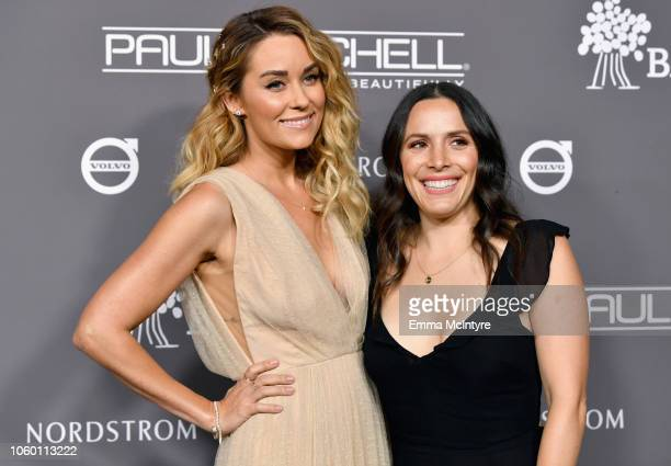 Lauren Conrad and guest attend the 2018 Baby2Baby Gala Presented by Paul Mitchell at 3LABS on November 10 2018 in Culver City California