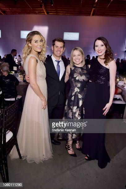 Lauren Conrad and guests attend the 2018 Baby2Baby Gala Presented by Paul Mitchell at 3LABS on November 10 2018 in Culver City California