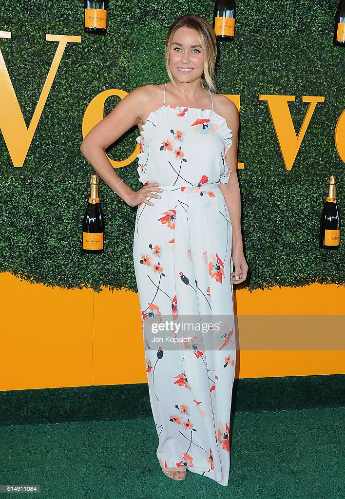 Lauren Conrad arrives at the 7th Annual Veuve Clicquot Polo Classic at Will Rogers State Historic Park on October 15, 2016 in Pacific Palisades, California.