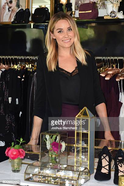 Lauren Conrad attends LC Lauren Conrad Runway PopUp Shop at the Americana at Brand on September 8 2016 in Glendale California