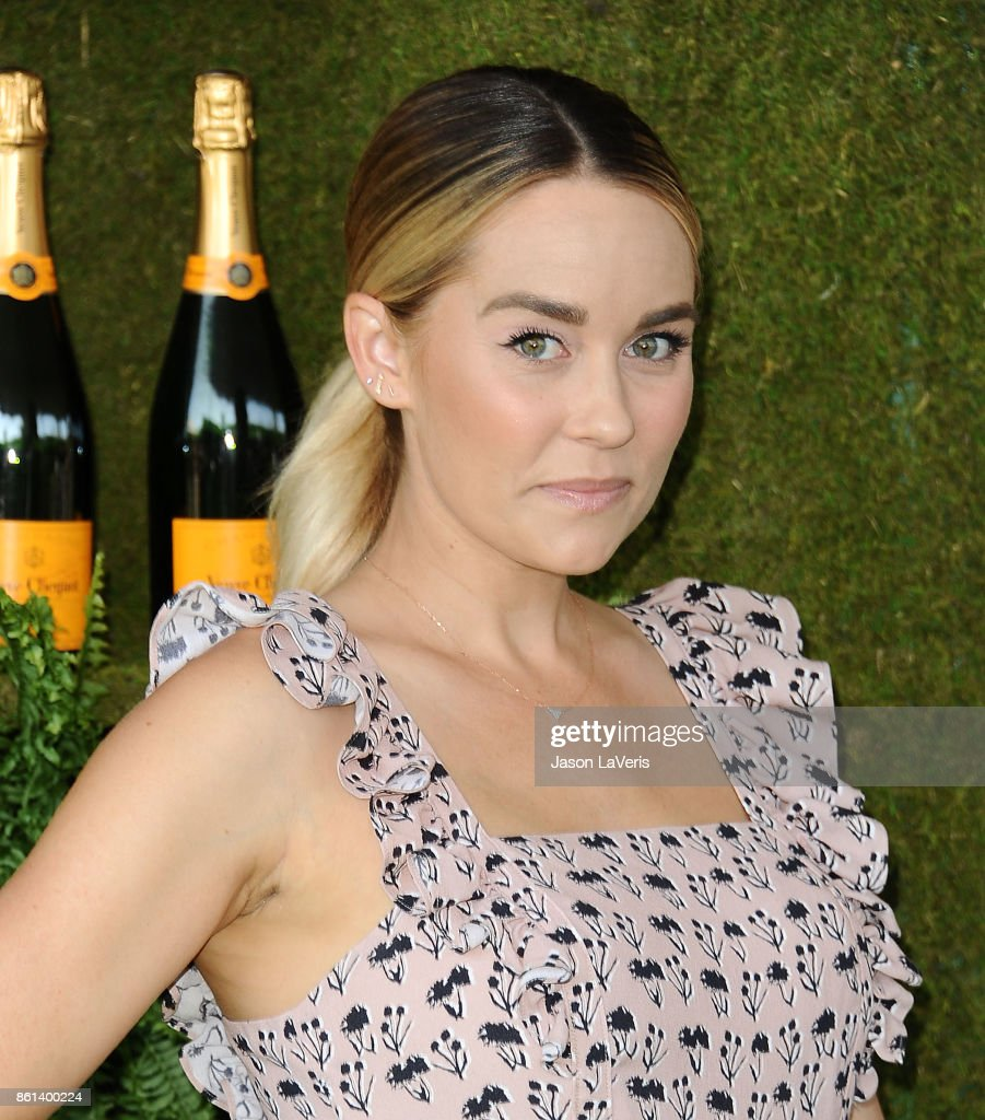 Lauren Conrad attends the 8th annual Veuve Clicquot Polo Classic at Will Rogers State Historic Park on October 14, 2017 in Pacific Palisades, California.