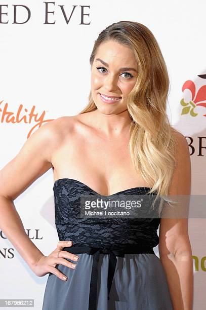 Lauren Conrad attends the Unbridled Eve Gala for the 139th Kentucky Derby at The Galt House Hotel Suites' Grand Ballroom on May 3 2013 in Louisville...