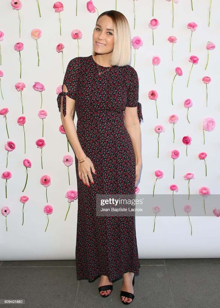 Lauren Conrad celebrates International Women's Dayon March 08, 2018 in Venice, California.