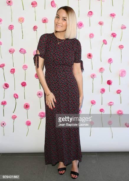 Lauren Conrad celebrates International Women's Dayon March 08 2018 in Venice California