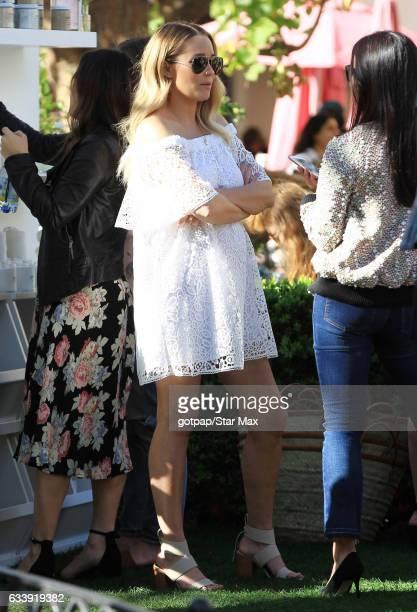 Lauren Conrad is seen on February 4 2017 in Los Angeles CA