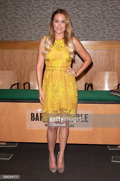 Lauren Conrad promotes her book 'Starstruck' at Barnes Noble 86th Lexington on October 16 2012 in New York City