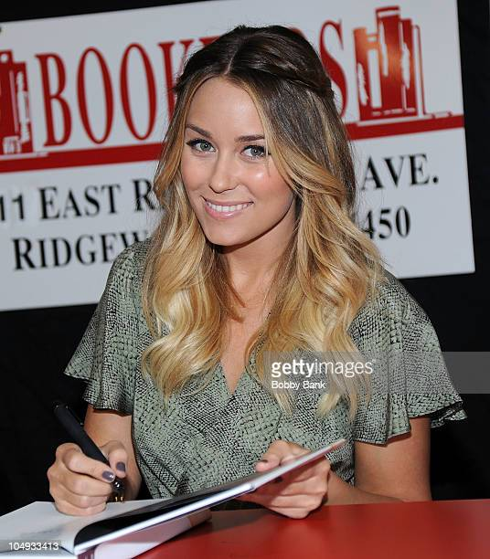 """Lauren Conrad promotes """"Sugar and Spice"""" & """"Lauren Conrad Style Guide"""" at Bookends Bookstore on October 6, 2010 in Ridgewood, New Jersey."""