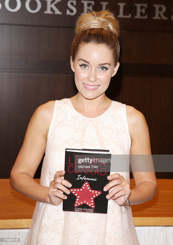 Lauren Conrad signs copies of her new book 'Infamous' held at Barnes & Noble bookstore at The Grove on June 11, 2013 in Los Angeles, California.