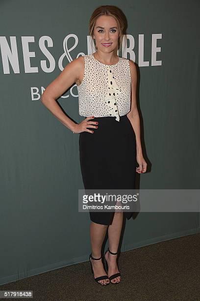 Lauren Conrad signs copies of her new book 'Lauren Conrad Celebrate' at Barnes Noble Tribeca on March 28 2016 in New York City
