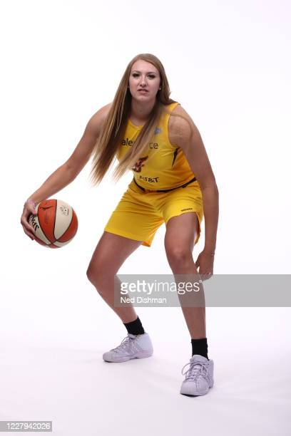 Lauren Cox of the Indiana Fever poses for a portrait during Media Day on August 5 2020 at IMG Academy in Bradenton Florida NOTE TO USER User...