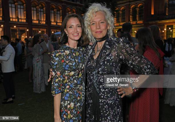 Lauren Cuthbertson and Ellen von Unwerth attend the Summer Party at the VA in partnership with Harrods at the Victoria and Albert Museum on June 20...