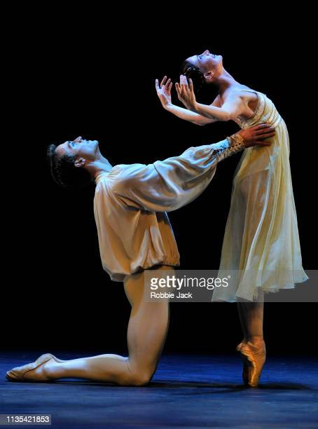 Lauren Cuthbertson and Matthew Ball in Romeo and Juliet from the Annette Page Tribute to a Ballerina at The Linbury Theatre The Royal Opera House on...
