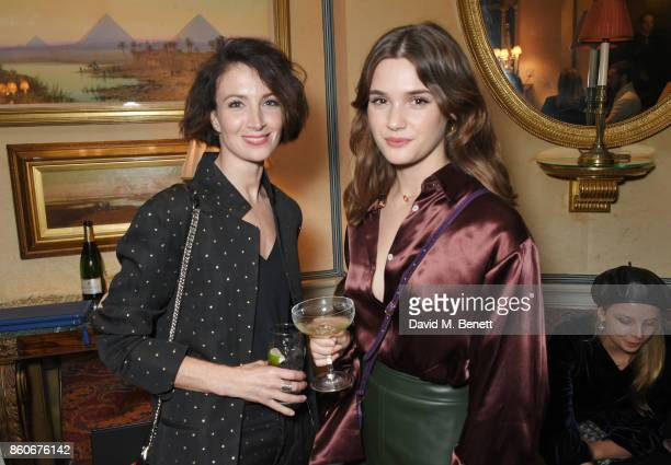 Lauren Cuthbertson and Sai Bennett attend the PORTER Lionsgate UK after party for Film Stars Don't Die In Liverpool at Mark's Club on October 12 2017...