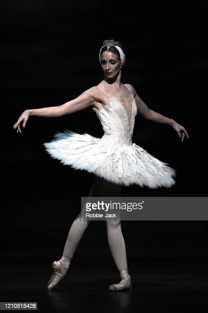 Lauren Cuthbertson as Odette/Odile n The Royal Ballet's production of Lev Ivanov and Marius Petipa's Swan Lake with added choreography by Liam...