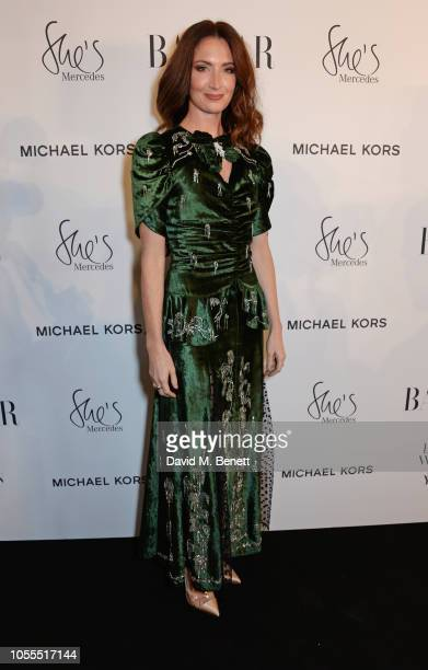 Lauren Cuthbertson attends the Harper's Bazaar Women Of The Year Awards 2018 in partnership with Michael Kors and MercedesBenz at Claridge's Hotel on...