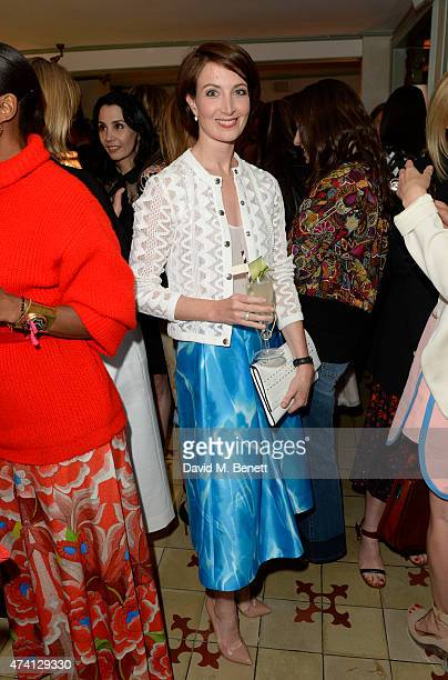 Lauren Cuthbertson attends the Kate Spade New York celebration of Chelsea In Bloom at Daphne's on May 20 2015 in London England