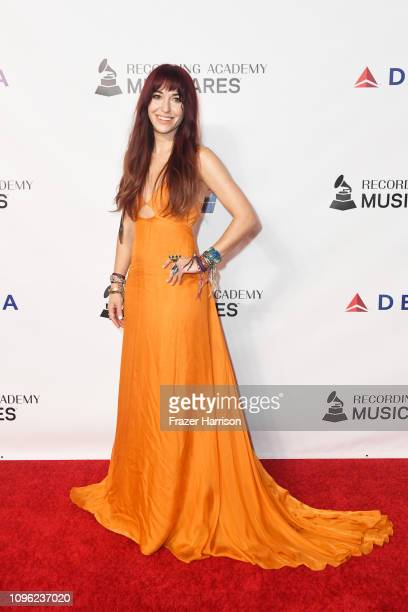 Lauren Daigle attends MusiCares Person of the Year honoring Dolly Parton at Los Angeles Convention Center on February 8 2019 in Los Angeles California