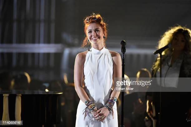 Lauren Daigle performs onstage during the 2019 Billboard Music Awards at MGM Grand Garden Arena on May 1 2019 in Las Vegas Nevada