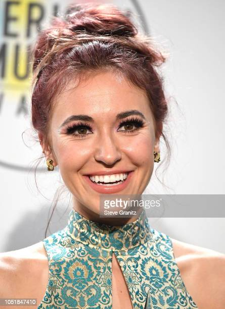 Lauren Daigle poses at the 2018 American Music Awards at Microsoft Theater on October 9 2018 in Los Angeles California