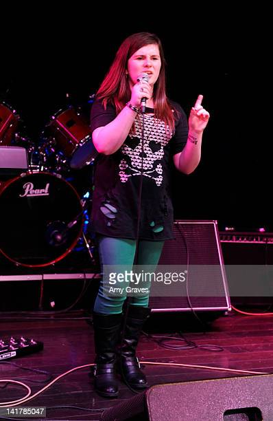 Lauren Dair Owens performs at the Shamrock and Roll Concert for St. Jude's Children's Hospital on March 17, 2012 in Los Angeles, California.