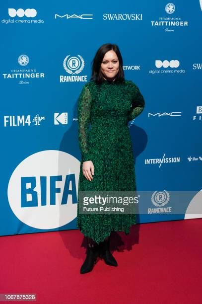 Lauren Dark attends the 21st British Independent Film Awards at Old Billingsgate in the City of London December 02 2018 in London United Kingdom