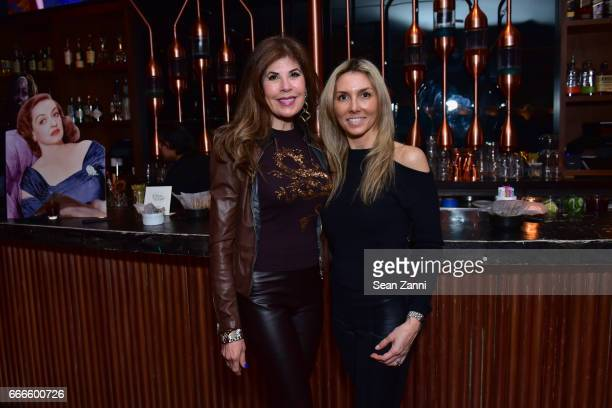 Lauren Day Roberts and Alexa Greenfield attend Bitches Who Brunch Debra's Birthday Edition on April 9 2017 in New York City