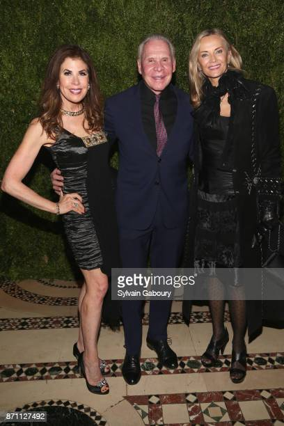 Lauren Day Roberts Bob Roberts and Bonnie Pfeifer Evans attend Prostate Cancer Foundation Presents the 2017 New York Dinner on November 6 2017 in New...