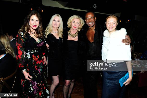 Lauren Day Roberts Colleen Rein Paola Bacchini Frederick Anderson and Alisa Roever attend Cheri Kaufman's Birthday at Kaufman Astoria Studios on...
