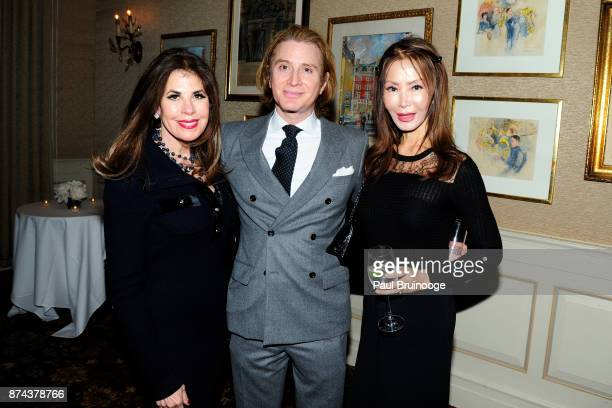Lauren Day Roberts Eric Javits and Yung Hee Kim attend In Celebration of the life of Lee Mellis at 21 Club on November 14 2017 in New York City