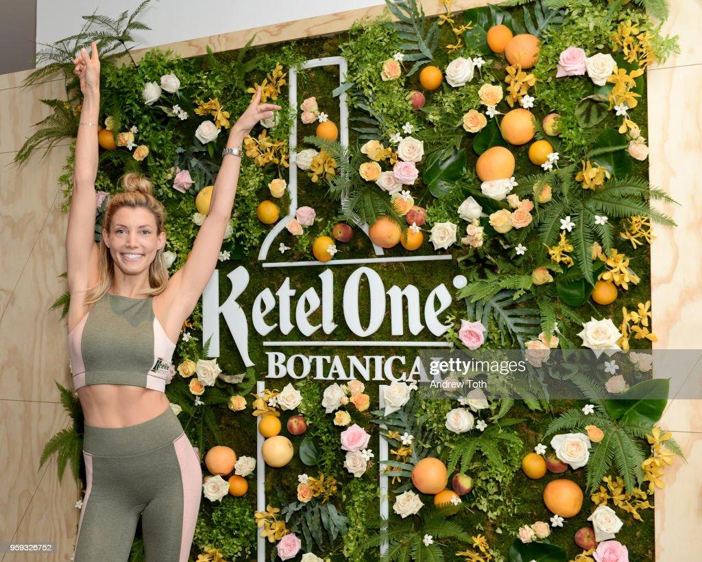 Lauren Duhamel celebrating the Launch of Ketel One Botanical on May 16, 2018 in New York City.