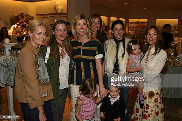 Lauren Dupont Amanda Cutter Brooks Lucy Sykes Rellie Kelly Killoren Bensimon Sally Albermarle Bella Cuomo and Cristina Greeven Cuomo attend 'Lucy...