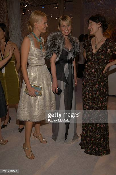 Lauren Dupont Amy Astley and Marina Rust Connor attend 'SEVENTH ON SALE' Benefit For HIV/AIDS at Skylight Studios on November 10 2005 in New York City
