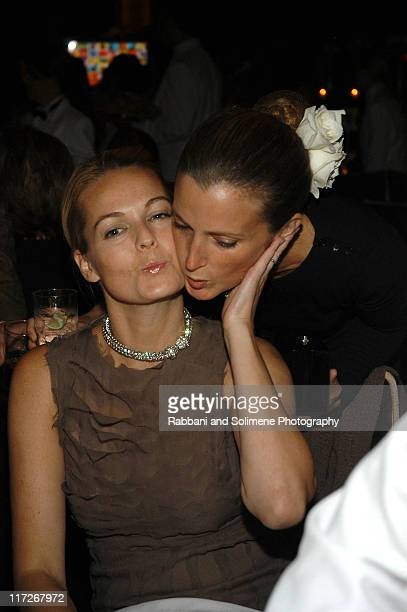 Lauren duPont and Amanda Cutter Brooks during 2006 New Yorkers For Children Fall Gala at Cipriani in New York City New York United States