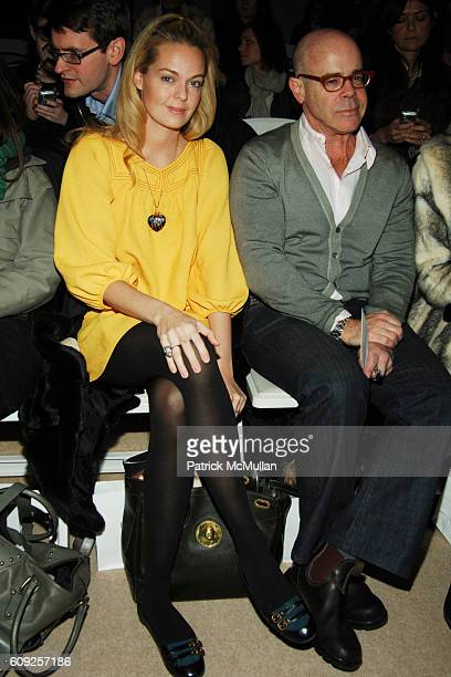 Lauren Dupont and Billy Norwich attend PETER SOM Fall 2007 Collection at The Promenade on February 7 2007 in New York City