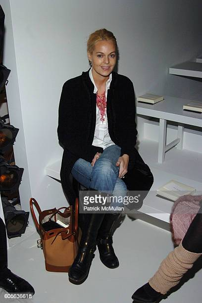 Lauren Dupont attends CALVIN KLEIN Fall 2006 Fashion Show at Calvin Klein Inc on February 9 2006 in New York