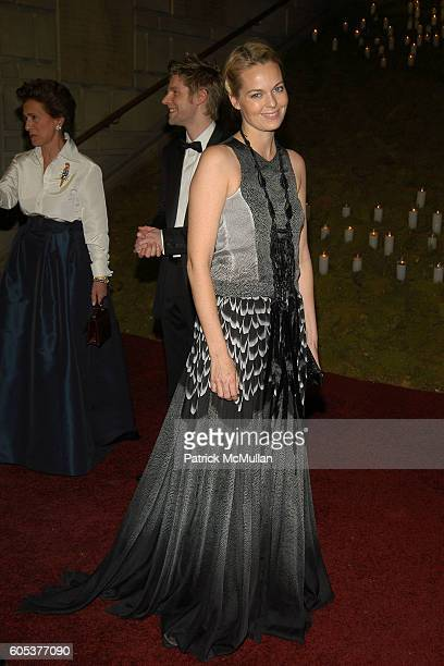 Lauren Dupont attends The Metropolitan Museum of Art Costume Institute Spring 2006 Benefit Gala celebrating the exhibition AngloMania Tradition and...