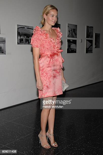 Lauren DuPont attends THE MUSEUM OF MODERN ART MoMA Party in the Garden to honor Leon and Debra Black and Martin Scorsese at MoMA on May 15 2007 in...